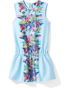 Cynthia Rowley Beaded Drop Waist Dress - Lyst
