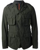 DSquared² Military-Style Jacket - Lyst