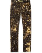 Raf Simons Sterling Ruby Bleached Slim-Fit Denim Jeans - Lyst
