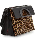 Christian Louboutin Passage Small Calf Hair Shoulder Bag - Lyst
