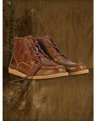 Ralph Lauren Leather Brackley Boot - Lyst