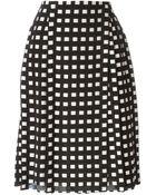 Proenza Schouler Woven A-Line Skirt - Lyst