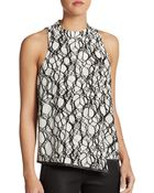 Elizabeth And James Britton Printed Top - Lyst