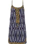 ViX Moorish Bisa Washed Silk Crepe De Chine Dress - Lyst