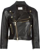 RED Valentino Biker Jacket - Lyst