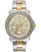 Juicy Couture Women'S Pedigree Two-Tone Stainless Steel Bracelet 38Mm 1901066 - Lyst