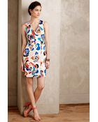 Plenty by Tracy Reese Woodblock Blooms Petite Dress - Lyst