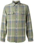 RRL Check Print Shirt - Lyst