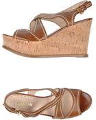 Prada Sandals - Lyst