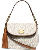 Michael Kors Michael Jet Set Item Medium Tassel Convertible Shoulder - Lyst