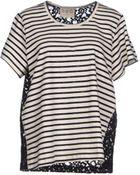 Sea T-Shirt - Lyst