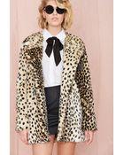 Nasty Gal Pretty Kitty Coat - Lyst