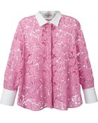 Valentino Lace Shirt - Lyst