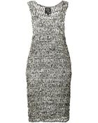 McQ by Alexander McQueen Open Knit Dress - Lyst