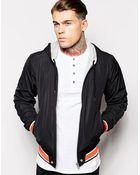 Diesel Jacket J-Helad Reversible Nylon Hooded - Lyst