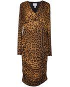 Class Roberto Cavalli 3/4 Length Dress - Lyst