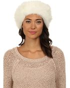 Ugg Layna Long Pile Headband / Snood - Lyst