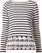 Thakoon Striped Sweater - Lyst