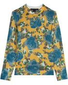 Marc By Marc Jacobs Jerrie Printed Pullover - Lyst