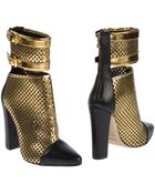 Balmain Ankle Boots - Lyst