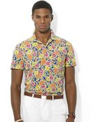 Polo Ralph Lauren Floral-Print Jersey Polo Shirt - Lyst