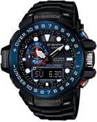 G-Shock Men'S Analog-Digital Gps Black Resin Strap Watch 45X56Mm Gwn1000B-1A - Lyst