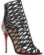 Christian Louboutin Millie Cinque Booties - Lyst
