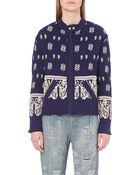 Free People Patterned Jacket - For Women - Lyst