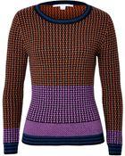 Diane von Furstenberg Wool Pullover In Multicolor - Lyst