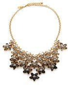 Kate Spade Ombre Bouquet Statement Necklace - Lyst