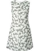 Balenciaga Textured Sleeveless Dress - Lyst