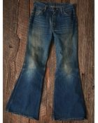 Free People Womens Vintage 1970S Flare Jeans - Lyst