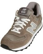 New Balance 574 Suede & Mesh Sneakers - Lyst