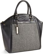 Kensie Patterned Front Tote Bag - Lyst