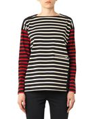 Stella McCartney Multi-Stripe Cotton Top - Lyst