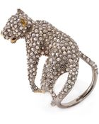Alexis Bittar Elements Lounging Panther Cocktail Ring - Lyst