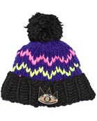 Maria Francesca Pepe+wool And The Gang Wool Beanie Hat With Eye Pin - Lyst