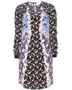 Peter Pilotto Lyo Printed Silk Dress - Lyst