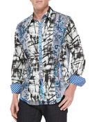 Robert Graham Gia Abstract-Print Sport Shirt - Lyst