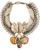 Beavaldes Necklace - Lyst