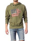 Denim & Supply Ralph Lauren Sweatshirt - M14 Klwph Cltfy A3Rmy Ls Shawl Popover Hood - Lyst