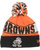 New Era Cleveland Browns Rep Your Team Pom Knit Hat - Lyst