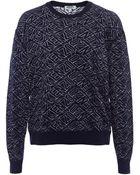 Kenzo Reversible Logo Sweater - Lyst