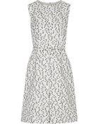 Oscar de la Renta Tweed Dress - Lyst