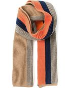 DSquared2 Striped Scarf - Lyst
