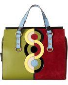 DSquared² Circle Print Tote Bag - Lyst