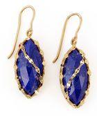 Lana Jewelry Abra Lapis Drop Earrings - Lyst