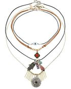 Topshop Eye And Fatima Necklace Pack - Lyst
