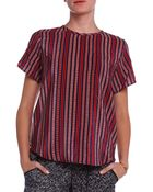 Sea Striped Top - Lyst