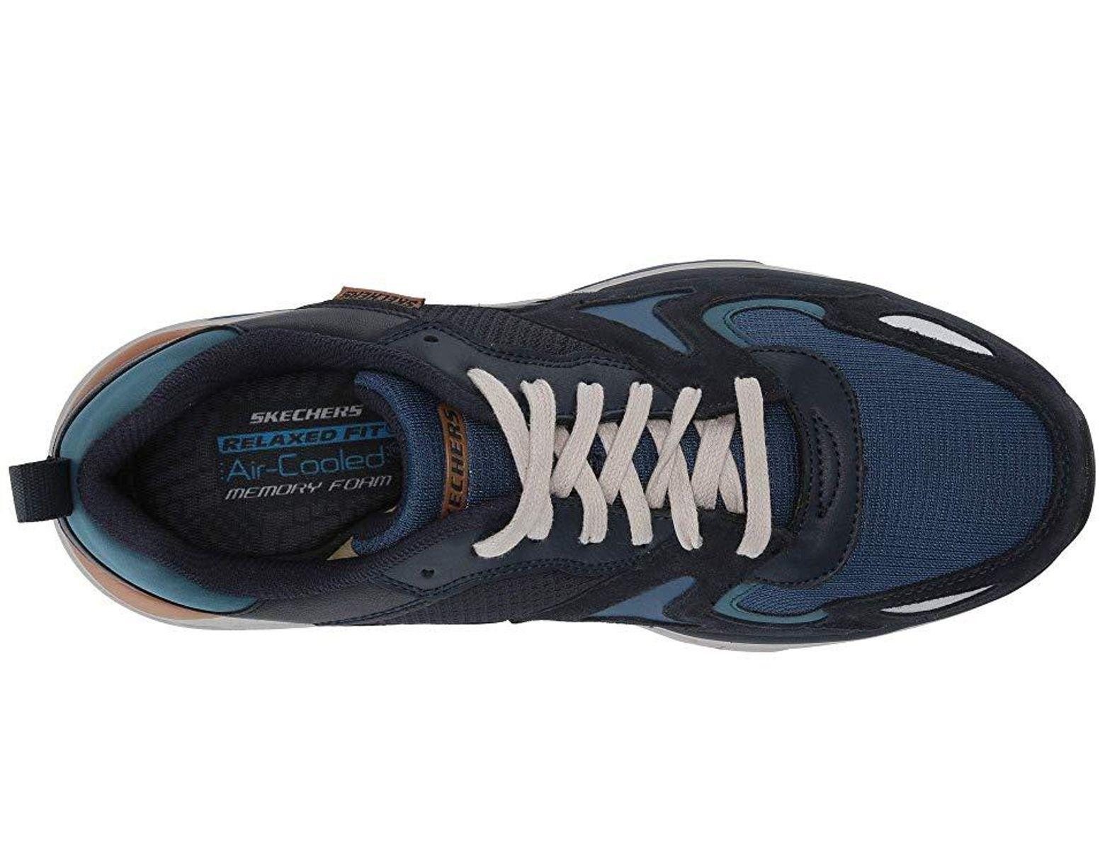 a928b22d126 Skechers Relaxed Fit Verrado - Brogen (navy) Shoes in Blue for Men - Lyst